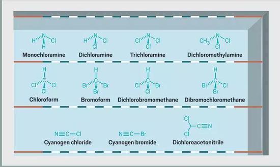 氯胺的形成